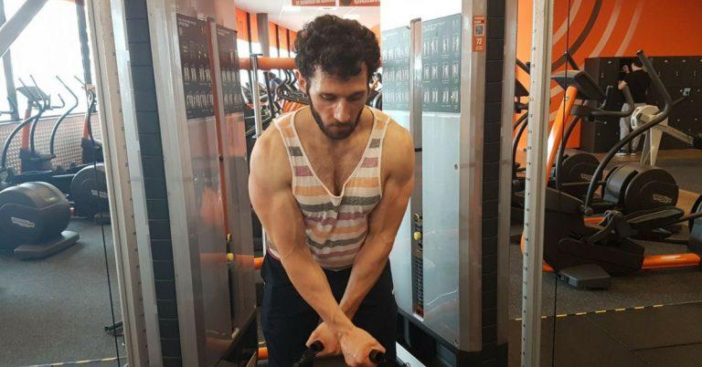 traditionele bodybuilding split