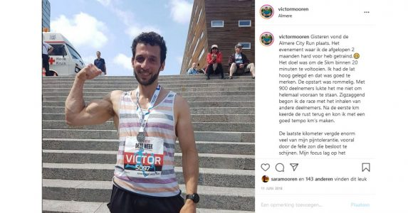 5km hardloopwedstrijd