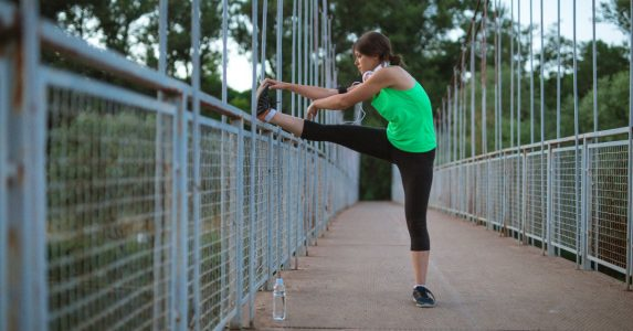 statisch rekken hardlopen