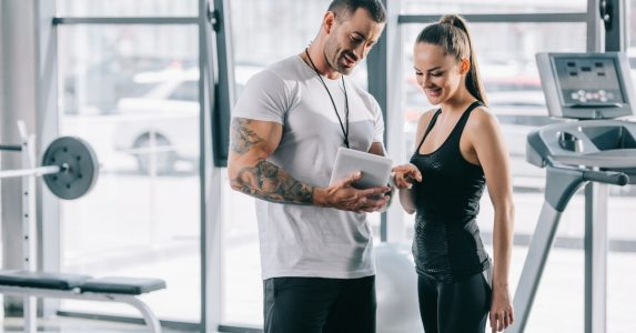 Personal trainer of lifestyle coach