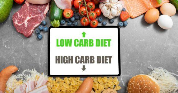 high carb vs low carb