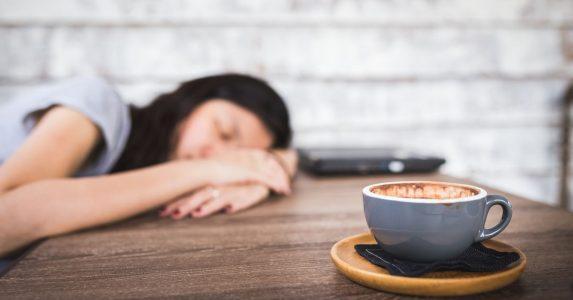 cafeine slaaptekort