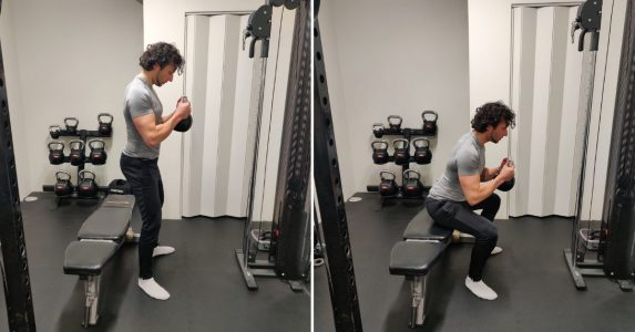 box squat uitleg