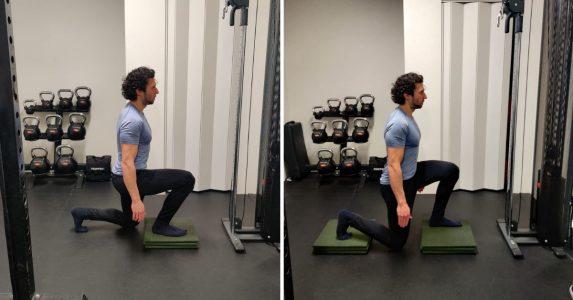split squat verhoging