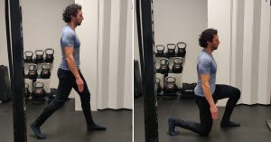 split squat uitleg