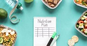 afvallen voedingsschema
